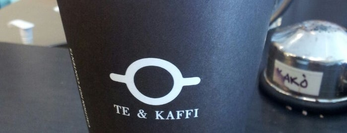 Te & Kaffi is one of PINAR 님이 좋아한 장소.