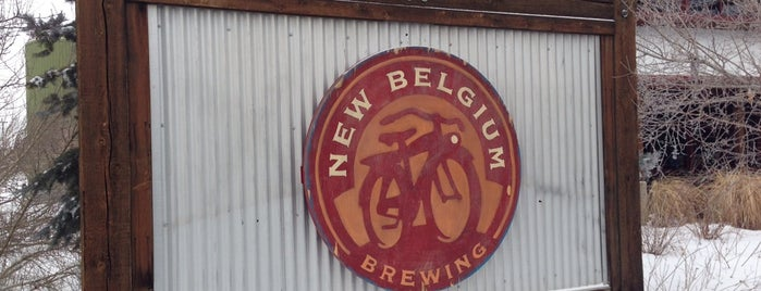 New Belgium Brewing is one of Breweries USA.