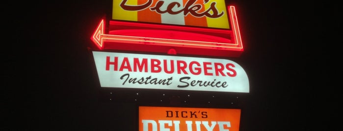 Dick's Drive-In is one of Comfort FoodSpottting.