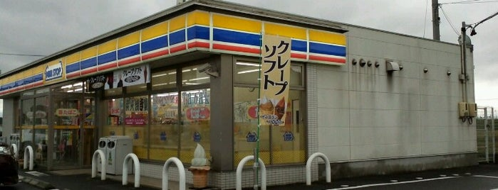 ミニストップ 上野長田店 is one of Tempat yang Disukai Shigeo.