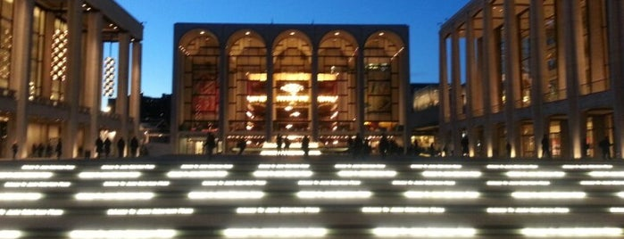 Lincoln Center for the Performing Arts is one of Favorites.