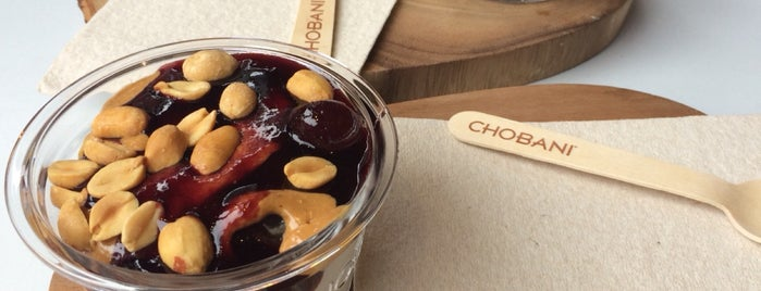 Chobani is one of eats to try.