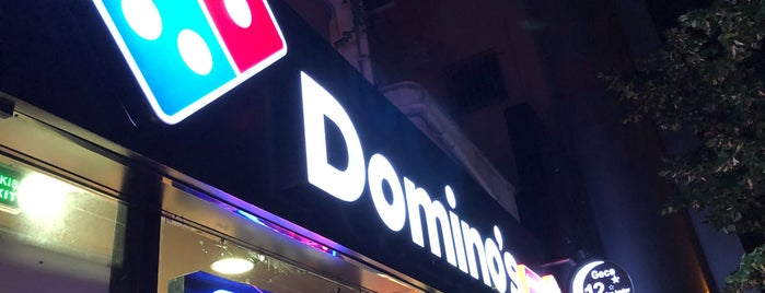 Domino's Pizza is one of Gokay.