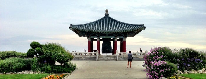 Korean Bell of Friendship is one of 87 Free Things To Do in LA.