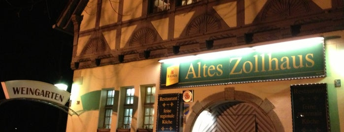 Altes Zollhaus is one of berlin love.