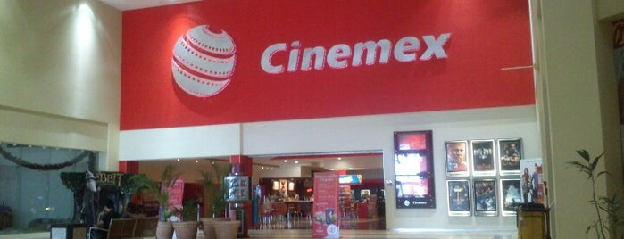 Cinemex is one of Mis Lugares.