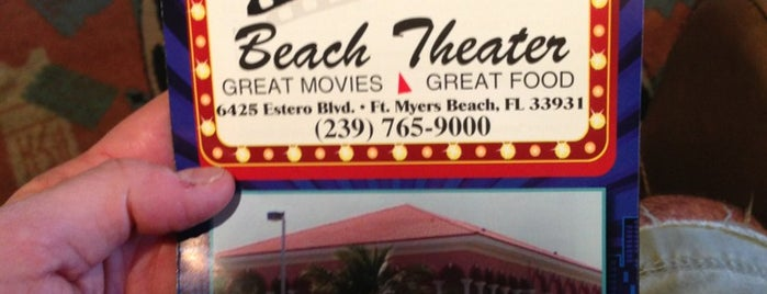 Beach Theater is one of Island Bars.