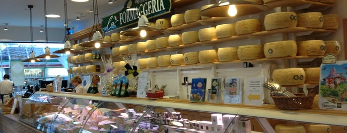 La Formaggeria Gran Moravia is one of Prague - the second day?.