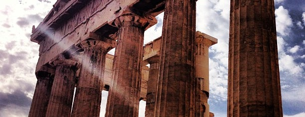 Parthenon is one of Go Ahead, Be A Tourist.