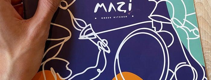 Mazi Greek Kitchen is one of Locais curtidos por Vanessa.