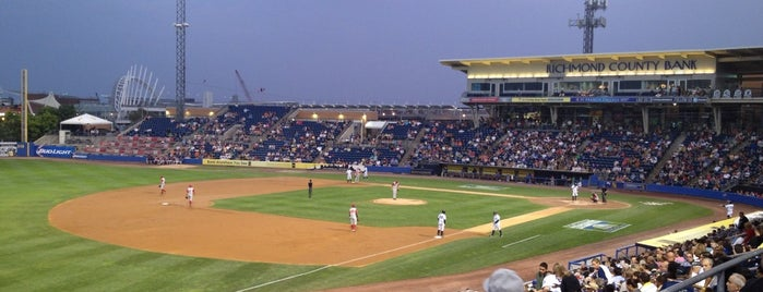 Richmond County Bank Ballpark is one of Baseball Stadiums in U.S.A..