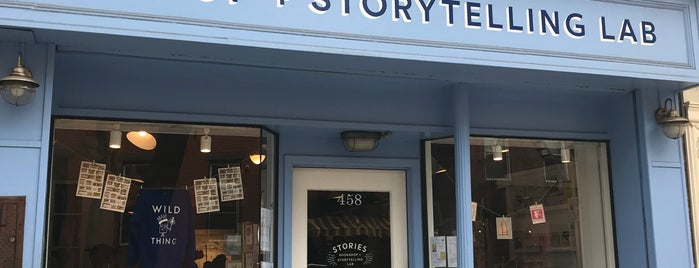 Stories Bookshop & Storytelling Lab is one of Samさんのお気に入りスポット.
