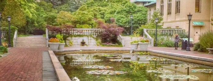 Brooklyn Botanic Garden is one of New York //.