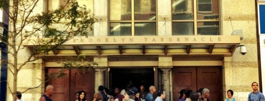 Brooklyn Tabernacle is one of NYC.