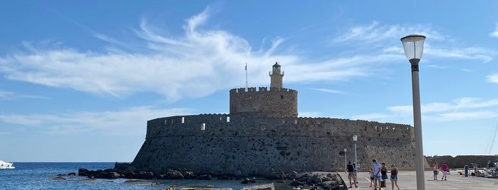 Fortress of Saint Nicholas is one of Rhodes.