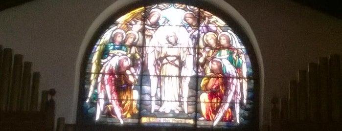 Decatur First United Methodist Chapel is one of Lieux sauvegardés par Beth.