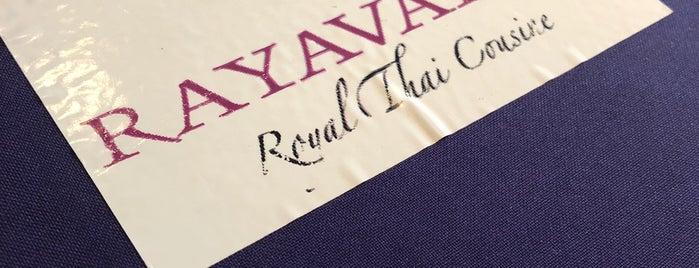 Rayavadee Royal Thai Cuisine is one of สถานที่ที่บันทึกไว้ของ Kristina.