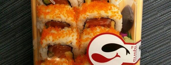 Sushi Sushi is one of Gespeicherte Orte von Flor.