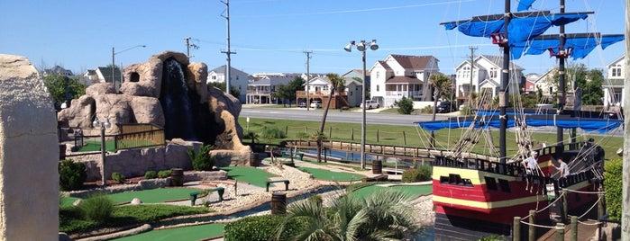 Lost Treasure Golf is one of สถานที่ที่ Amy ถูกใจ.