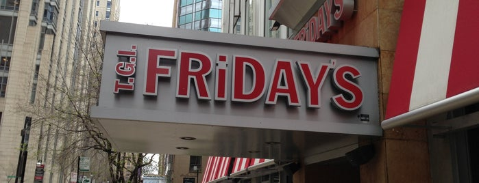 TGI Fridays is one of Chicago restaurants 1.