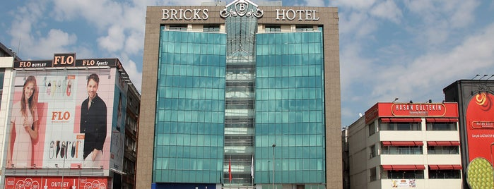 Bricks Hotel Istanbul is one of Locais curtidos por Melih Mühendis.