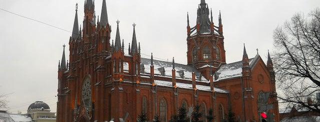 Собор непорочного зачатия пресвятой Девы Марии is one of По Москве с Алексеем Борисовым.