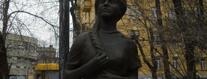 Площадь Борьбы is one of По Москве с Алексеем Борисовым.