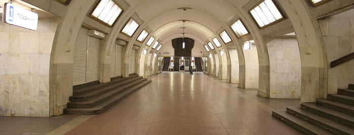 metro Tretyakovskaya is one of Частопосещаемое.