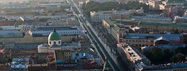 Nevsky Prospect is one of Top-20: Санкт-Петербург.