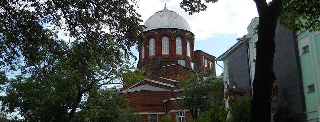 Храм Великомученика Георгия Победоносца в Грузинах is one of По Москве с Алексеем Борисовым.