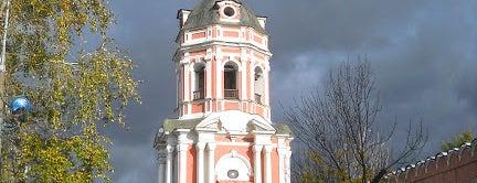 Донской монастырь is one of По Москве с Алексеем Борисовым.