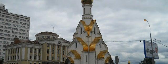 Храм Александра Невского в Кожухове is one of По Москве с Алексеем Борисовым.