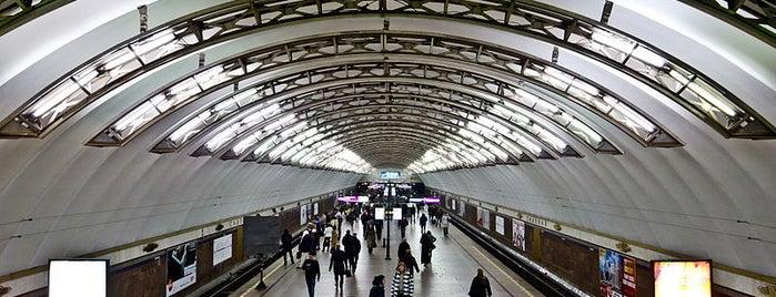 metro Sadovaya is one of Lugares favoritos de Stanislav.