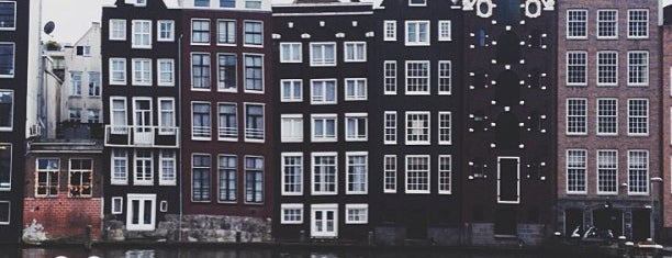 Damrak is one of Amsterdam.