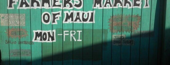 Kihei Farmer's Market is one of Maui.