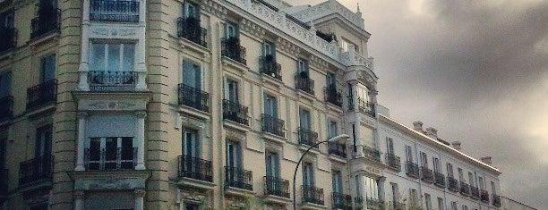 Calle José Ortega y Gasset is one of Madrid.