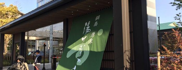 綱島源泉 湯けむりの庄 is one of Places to go.