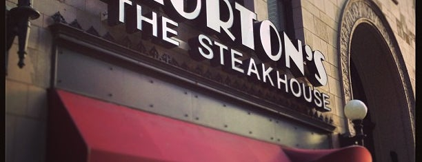 Morton's The Steakhouse is one of Chicago to see.