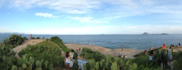 Pedra do Arpoador is one of Tempat yang Disukai Bruno.