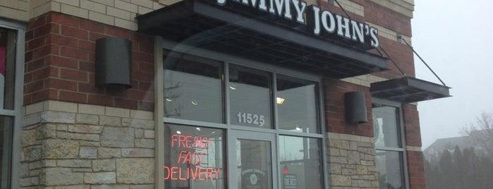 Jimmy John's is one of Tempat yang Disukai George.