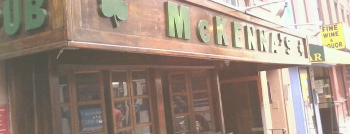 McKenna's Pub is one of New York City.