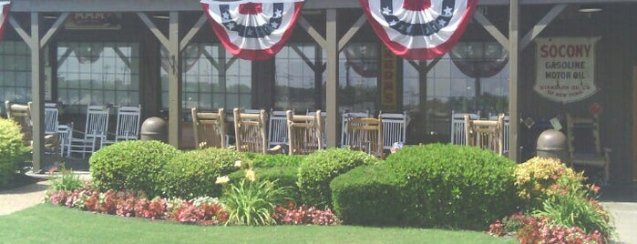 Cracker Barrel Old Country Store is one of dining favs.
