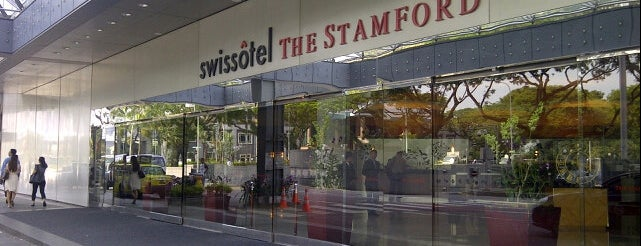 Swissôtel The Stamford is one of Singapore.