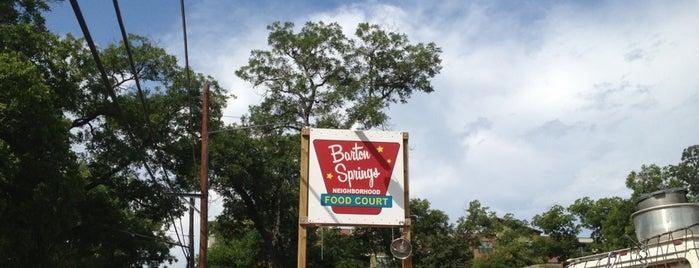 Barton Springs Neighborhood Food Court is one of Austin.