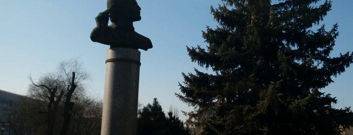 Памятник Архипу Куинджи is one of Андрей : понравившиеся места.