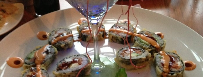 Sake Sushi and Grill is one of Lieux qui ont plu à Melissa.