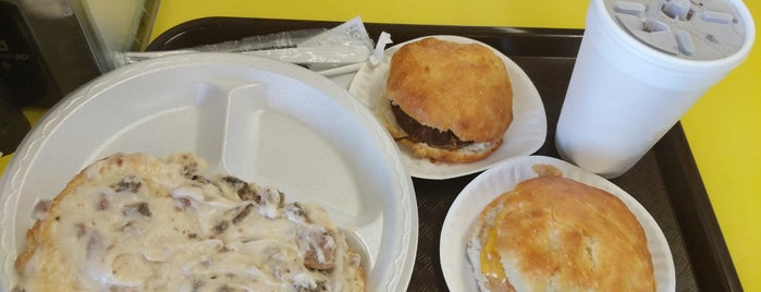 Sunrise Biscuit Company is one of 100 Foods in 100 Counties (NC).