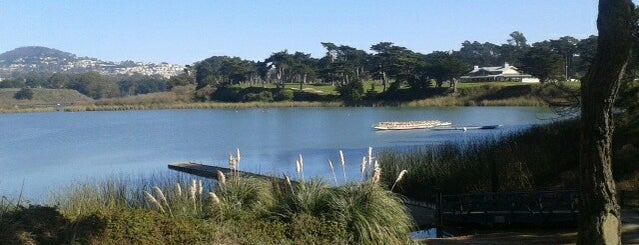 Lake Merced is one of Cali.