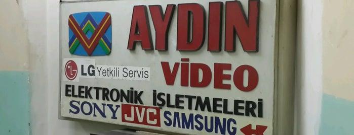 Aydın Video Elektronik Teknik Hizmetleri San Tic Ltd Şti is one of Work.