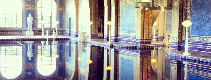 Hearst Castle is one of CALiFORNiA.